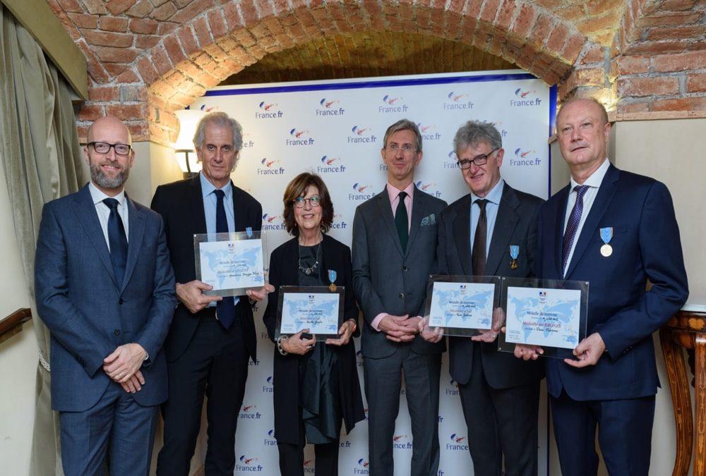 Atout France assegna le medaglie al turismo 2019